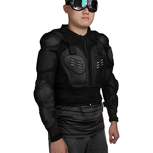 Zimo Men Motocross Off Road Motorcycle Guard Jacket Armor Chest Shoulder Protector Xl
