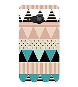 EPICCASE dots and angles Mobile Back Case Cover For Microsoft Lumia 550 (Designer Case)