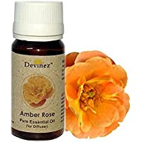 Devinez Amber Rose, Jasmine Essential Oil For Electric Diffusers/ Tealight Diffusers/ Reed Diffusers, 30ml Each