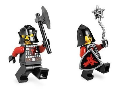 Lego Castle: Two Dragon Soldiers - 1