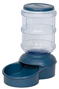 Petmate Le Bistro 5-Pound Feeder with Microban, Peacock Blue