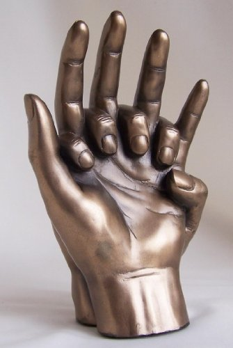 Entwined Hands Sculpture - A Fabulous Bronze Anniversary, Engagement, Wedding Or Chirstmas Gift Idea For The One You Love ?