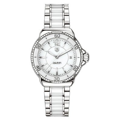 TAG Heuer Women's WAH1213.BA0861 Formula 1 White Dial Watch