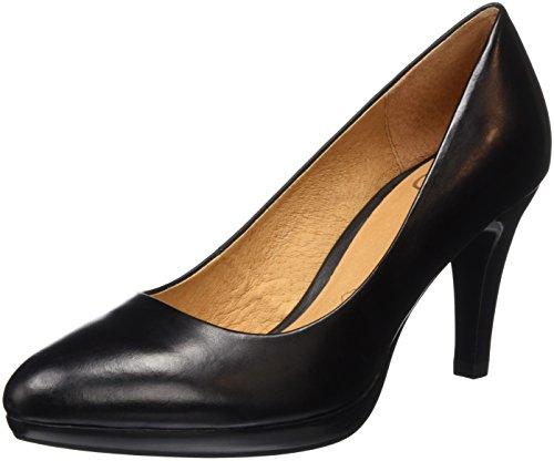 Caprice22410 - Scarpe con Tacco Donna, Nero (BLACK NAPPA 022), 39