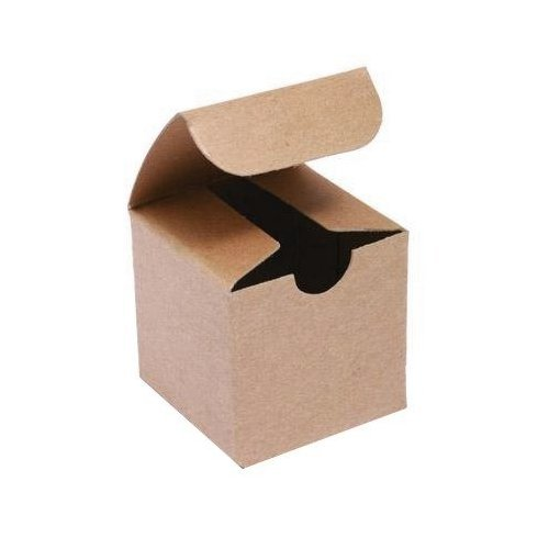 3in. X 3in. X 3in. Kraft Gift Boxes - pack of 10