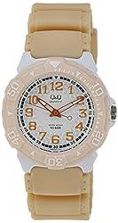 Q&Q Regular Analog White Dial Mens Watch - VQ58J007Y