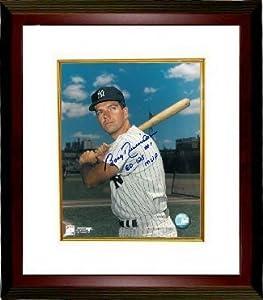 Bobby Richardson signed New York Yankees Color 8x10 Photo 60 WS MVP Custom Framed