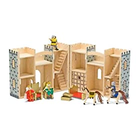 Melissa & Doug Fold and Go Mini Castle