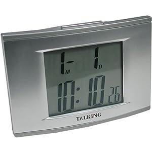 Talking 4 Alarm Clock with EL Backlight