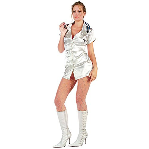 Adult Women's Sexy Doctor Outfit (Size: Small 2-4)