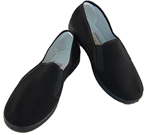Tai Chi shoes shoes Tai Chi Chuan Shaolin Temple martial arts karate Kung Fu in black (25.5)