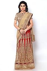 Khatushyam Textile Ethnic Unstiched Lehnga Saree
