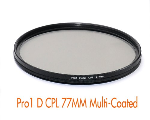 RainbowImaging 77mm Pro 1D PRO1-D Slim CPL Circular Polarizer filter (Multi-Coated)