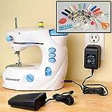 Euro-Pro 1100 Dressmaker II Sewing Center - White