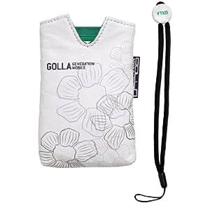 Golla G1002 Happy Étui pour Appareil photo compact Taille S Blanc