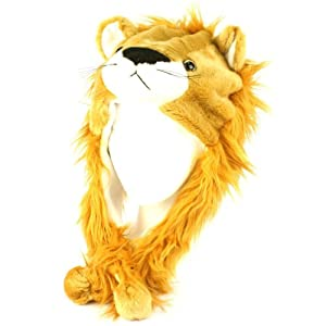 Plush Lion King Kids Animal Winter Hat
