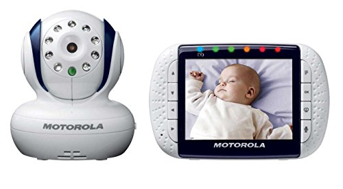 Motorola-Wireless-Video-Baby-Monitor-MBP34-35-Inch-Digital-Color-Screen