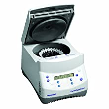Eppendorf 022620444 5424 Microcentrifuge with Keypad Control and Rotor, for 24-place 1.5/2.0mL Microcentrifuge Tubes, 120V/60Hz