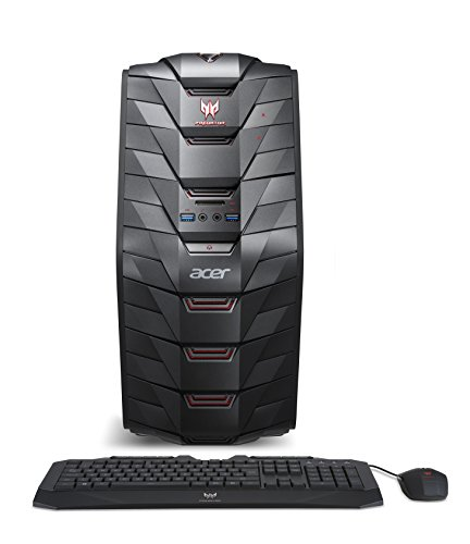 Acer Predator AG3-710-UR53 Gaming Desktop (6th Gen Intel Core i5, Windows 10, 8GB DDR4, NVIDIA GTX 950) (Gaming Desktop Under 1000 compare prices)