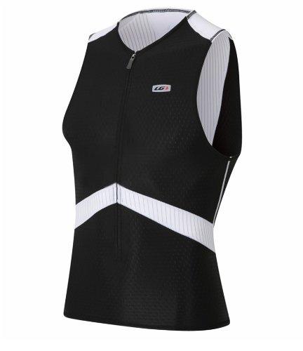 Buy Low Price Louis Garneau Men's Pro Sleeveless Semi-Relax Tri Top – 2011 (B004T44BUS)