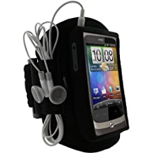 buy Igadgitz Black Water Resistant Neoprene Sports Gym Jogging Armband For Htc Wildfire G8 Android Smartphone Cell Phone