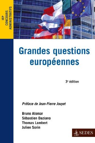 Grandes questions européennes : Concours administratifs
