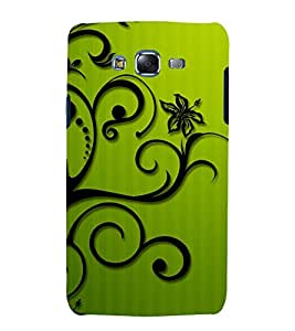 printtech Floral Vine Abstract Back Case Cover for Samsung Galaxy Grand 3 G720 / Samsung Galaxy Grand Max G720