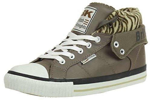British Knights ROCO BK Damen Sneaker B32-3731-01 braun, Schuhgröße:EUR 37
