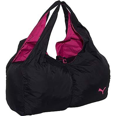 Puma Women's Training Shine Yoga Gym Sport Travel Tote, Hobo Bag