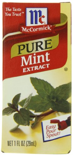 McCormick Pure Mint Extract, 1-Ounce Unit (Pack of 6) (Extract Mint compare prices)