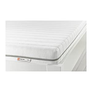 IKEA MALFORS Foam mattress medium firm white Amazon