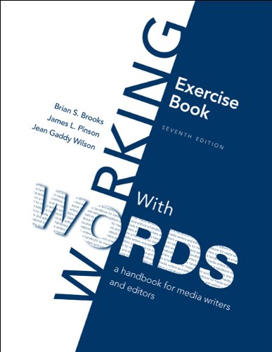 Exercise Book for Working with Words