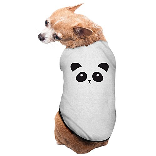 Bro-Custom Cute Panda Face T-shirt For Dog