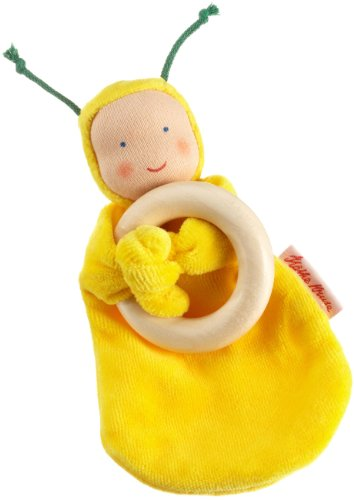 Kathe Kruse Rainbow Baby Doll, Yellow