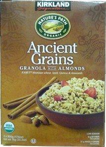 KIRKLAND Ancient Grains GRANOLA WITH ALMONDS カークランド オーガニック グラノーラ 1kg