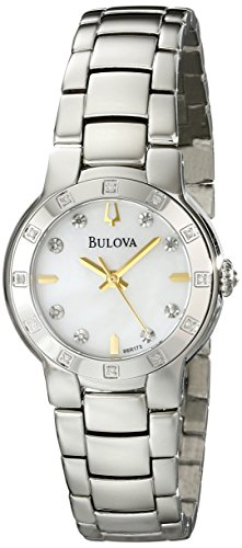 Bulova Ladies Diamond Watch 96R173