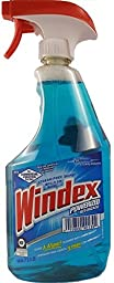 S C JOHNSON 5 Pack of Windex Commercial & Industrial Ammonia-D Cleaner, 32-Ounce Spray Bottle