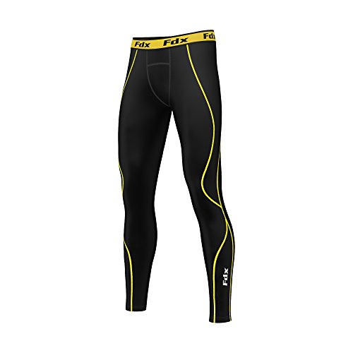 FDX Mens Body Armour Compression Base Layer Tights Sports Leggings Under Gear