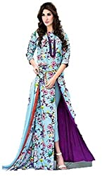 Preeti Fashion Women's Synthetic Unstitched Dress Material (Pack Of 2) (B3006_2_Multicolor_Free Size)