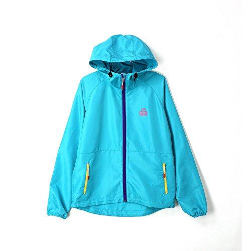 CHUMS チャムス Breeze Jacket ブリーズジャケット メンズ アウター パーカー アウトドア ファッション フェス 登山 2015 春 夏 (Lサイズ, Teal)
