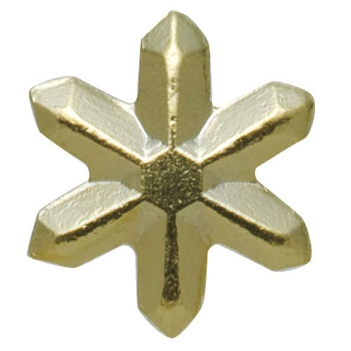 リトルプリティー 3Dスタッズスノー ゴールド 200個 LPー8513G