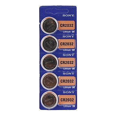 TY sony cR2032 batterie lithium 3 v-boutons (5-pack)