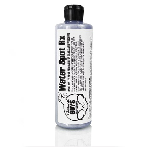 Chemical Guys Spi_886_16 - Water Spot Rx Hard Water Spot Remover For Glass And Windows (16 Oz) front-68901