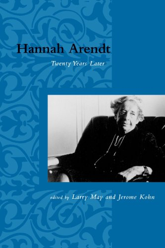 Hannah Arendt: Twenty Years Later (Studies in Contemporary German Social Thought)