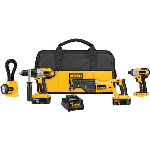 DEWALT-DCK455X-18-Volt-XRP-Cordless-4-Tool-Combo-Kit-by-DEWALT