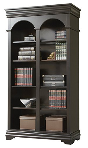 Martin Furniture Beaumont Double Open Bookcase - Fully Assembled (Wall Unit Bookcase compare prices)
