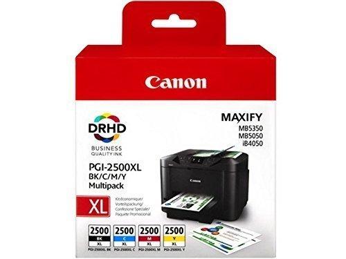1-x-set-of-the-original-ink-cartridge-canon-pgi-2500-for-canon-maxify-mb-5050-bk-cy-ma-ye-