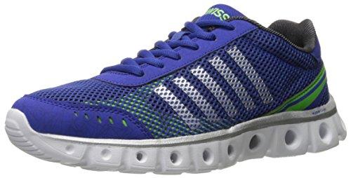K-Swiss Men's X Lite Athletic CMF Cross-Trainer Shoe, Morning/Black/Flash Green, 11 M US