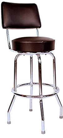 Amazon Com Budget Bar Stools 0 1957blk Heavy Duty Swivel