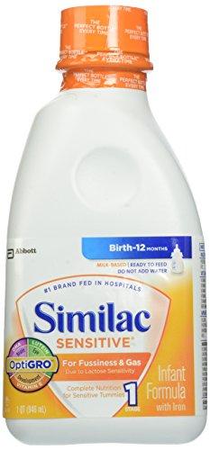 Similac Sensitive Ready to Feed, 32 Fluid Ounce